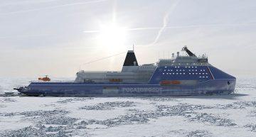 Мирный атом во льдах Арктики