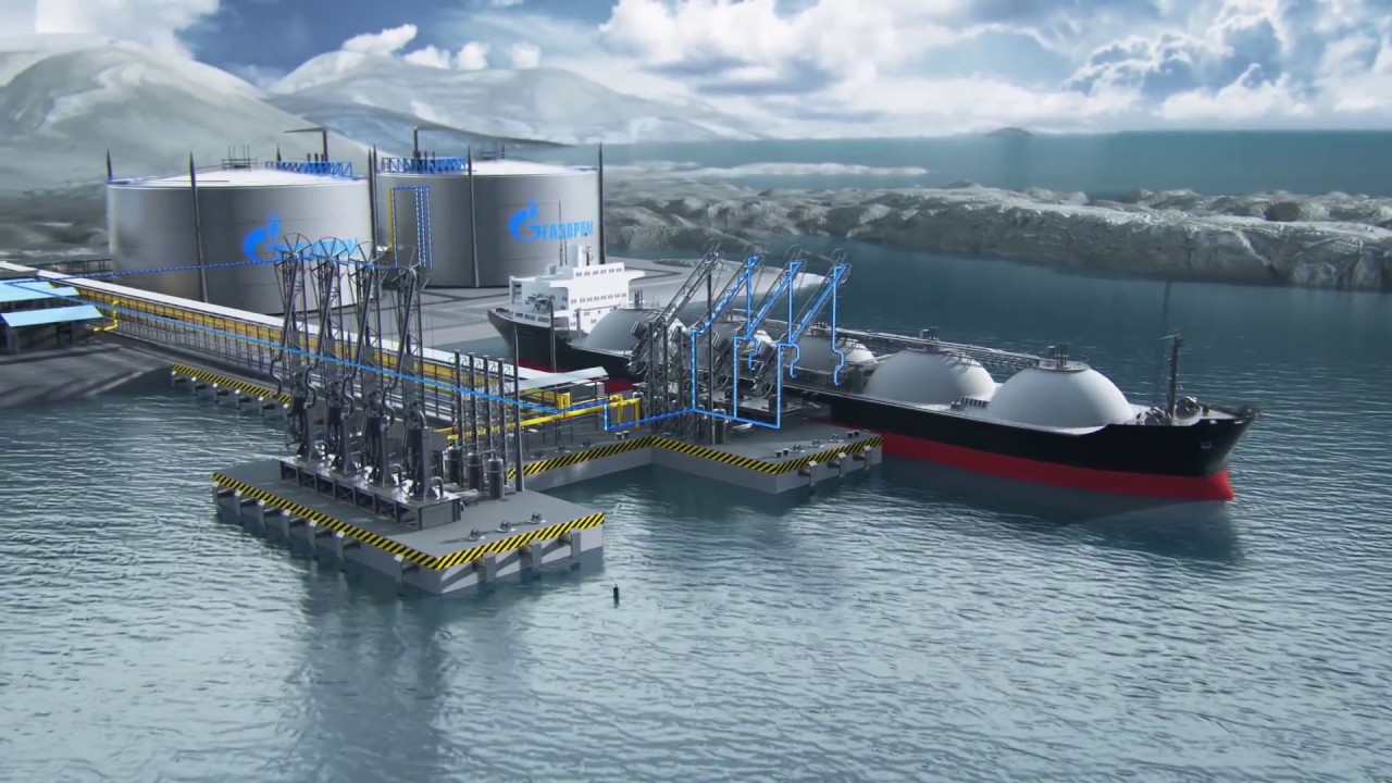Освоение производства арктических газовозов в России