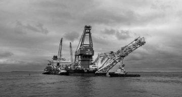 Две нитки «Северного потока — 2» в водах Дании планируют достроить до конца апреля