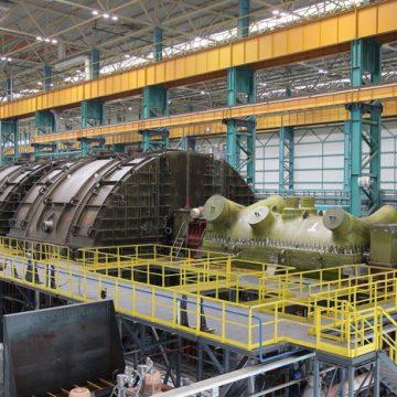 «Силовые машины» изготовили первую российскую тихоходную турбину для АЭС