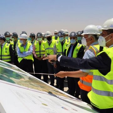 Глава Росатома и министр энергетики Египта посетили площадку сооружения АЭС в Эд-Дабаа