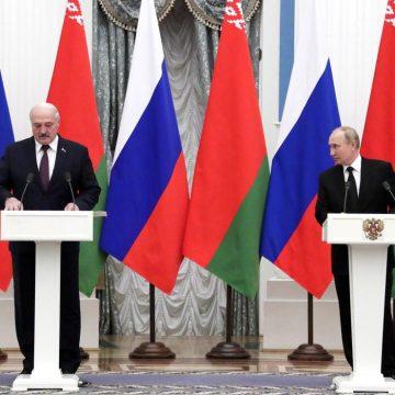 Путин анонсировал подписание документов о едином рынке нефти и газа РФ и Белоруссии